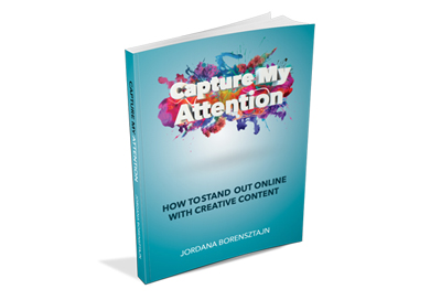 Capture My Attention book